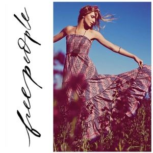 Free People Easy Come Easy Go Maxi Tube Dress
